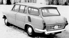 OG   1965 Škoda 1000 MB Kombi   Prototype