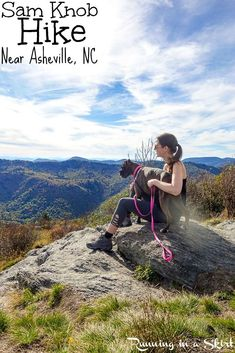 Sam Knob Hike - Details about this gorgeous 2 1/12 mile summit view day hike along the Blue Ridge Parkway near Asheville, North Carolina. Beautiful NC Mountains fall views and one of my favorite Asheville hikes. / Running in a Skirt
