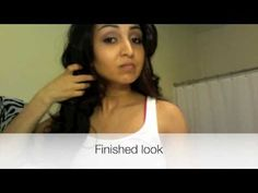 Victoria Secret Bombshell Inspired Hair Tutorial
