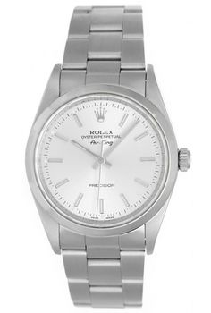 Rolex Air-King Mens Stainless Steel Oyster Perpetual Watch 14000 - Automatic windinghttp://rstyle.me/~RXQI