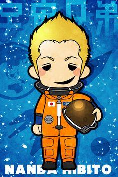 Space Brothers Hibito Nanba