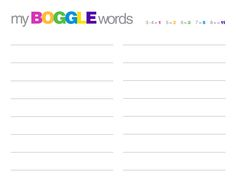 E is for Explore!: BOGGLE for the Smart Board