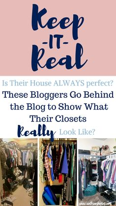 This is such a fun series! These bloggers go behind the scenes to show what there life really looks like behind the blog. It's refreshing to see bloggers showing the REAL in there life. You should check it out! #keepitreal