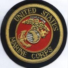 United states Marine Corps Bullion wire Blazer Badge : http://welldonebadges.com/p/bullion-badges/