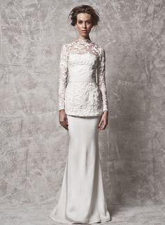 Nurita Harith 2014 Bridal Collection. www.theweddingnotebook.com