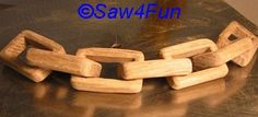 Wooden Chain Scroll Saw Free Pattern
