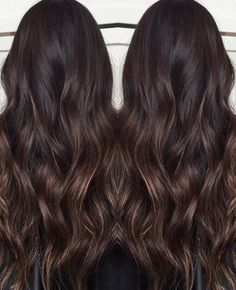 6 Things you need to know about Balayage Highlights – Stylish Hairstyles Brown Hair Balayage, Balayage Highlights, Hair Color Balayage, Ombre Hair, Hair Color Dark, Brunette Hair, Hairstyles Haircuts, Hair Videos, Hair Looks
