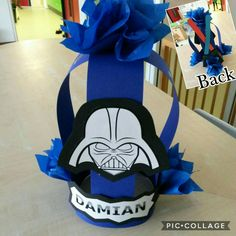 Star wars crown with two lightsabers made by me!