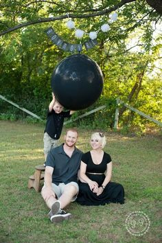 gender reveal balloon pop - Google Search