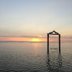Miann Scanlan found this ocean swing in Bali