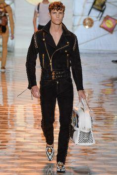 Versace Spring-Summer 2015 Men's Collection