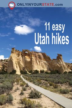 If you live in Utah, you really should do at least a little bit of hiking. This list of easy hikes in Utah is a great place to start. Utah Adventures, Outdoor Adventures, Camping In North Carolina, Utah Camping, Vegas, Utah Hikes, Us Road Trip, Travel Activities, Parcs