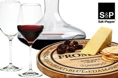 A glass of red and cheese served on one of our Fromage cheese boards? Don't mind if we do!