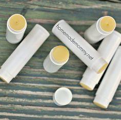 DIY Lip Balm via Homemade Mommy