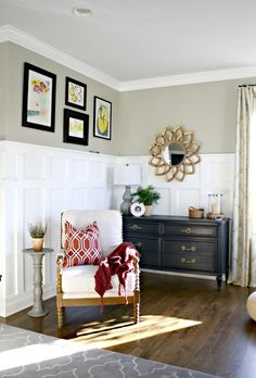 Thrifty Decor Chick: Simplifying the Art on the Walls