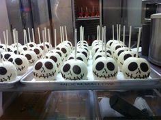 Jack Skellington chocolate apples I love anything that has to do with Nightmare Before Christmas