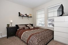 Large, bright upstairs bedroom