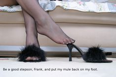 Ladies Slippers, Womens Slippers, Connect, Bond, Stockings, Fur, Lady, People, Fashion