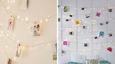 Idee deco chambre guirlandes lumineuses photos