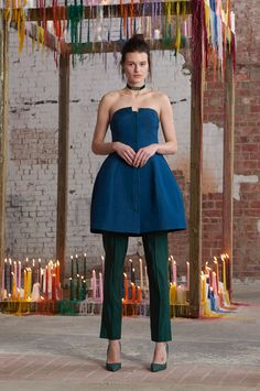 Rosie Assoulin Fall 2016 Ready-to-Wear Fashion Show  http://www.theclosetfeminist.ca/  http://www.vogue.com/fashion-shows/fall-2016-ready-to-wear/rosie-assoulin/slideshow/collection#13