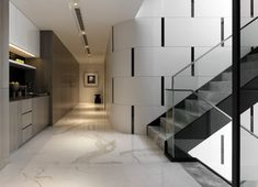 View the full picture gallery of Apartment Interiors Staircase Design Modern, Modern Design, Apartment Interior, Apartment Design, Home Design Floor Plans, Minimalist Interior, Luxury Apartments, Interior And Exterior, House Design