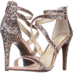 9be4be5cc5c5 Jessica Simpson Ellenie2 Cross Strap Sandals 801