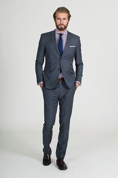 The Barker Grey Suit - Barkers