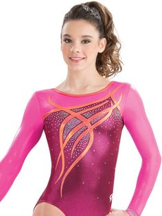 Ribbons & Curls Gymnastics Leotard from GK Elite