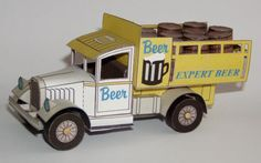 Simple Little Czech Beer Truck Free Vehicle Paper Model Download