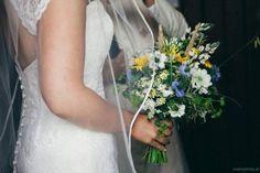 Wiązanka z polnych kwiatów i czarnuszki