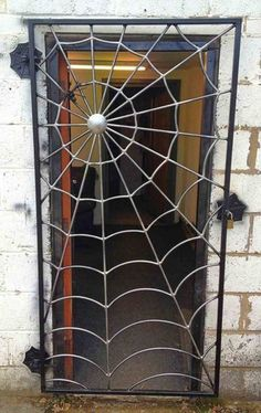 You can get a spider web gate custom made by & of Metal& in the UK. You can get a spider web gate custom made by & of Metal& in the UK. The post Cool! You can get a spider web gate custom made by & of Metal& in the UK. Metal Welding, Shielded Metal Arc Welding, Diy Welding, Welding Table, Welding Ideas, Cool Welding Projects, Welding Design, Metal Projects, Metal Crafts