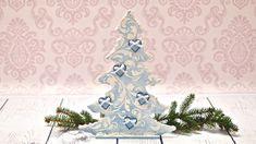 Новогодняя елочка CHOINKA z pastą strukturalną