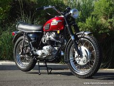1969 Triumph Motorcycles TR6C 650 Trophy by Classic Showcase