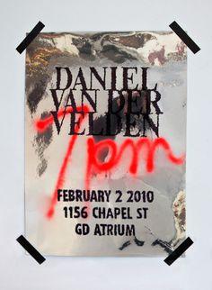 Daniel Van Der Velden Poster