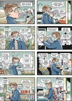 Hi All! With COVID-19 running rampant in ALL of the US, I thought this could be a partial explanation as to why… *Doonesbury 12/20/20 :) - The Future of America - Quora Political Quotes, Political Cartoons, Political News, Ted Kennedy, Religion And Politics, Free Comics, Wtf Funny, Satire, Corona