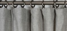Guide to Curtain Pleats and Hanging Techiques | How to Hang drapes , curtains – Barn & Willow