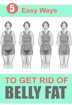 Easy Ways To Get Rid of Belly Fat