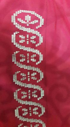 Weaving Patterns, Hand Embroidery, Diy And Crafts, Applique, Cross Stitch, Art, Cross Stitch Embroidery, Face Towel, Embroidery Ideas