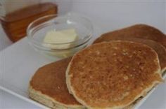 Oat Flour Pancakes...great for the Gluten free (wheat free) diet!