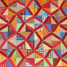 Left and Right Quilt, Anita Grossman Soloman see EQ Slanting Strips