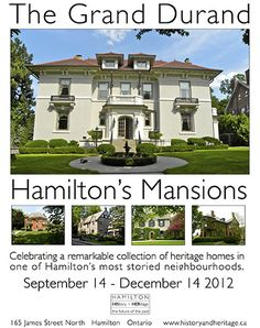 The Grand Durand, Hamilton, Ontario....a fabulous collection of varied architectural styles of mansions.