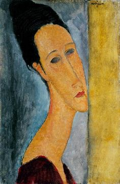 kART à voir: n°074 Portrait de Jeanne Hébuterne (1919)Amedeo Modigliani