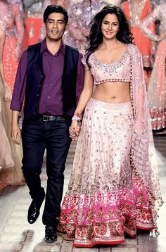 Katrina Kaif walks the ramp for Manish Malhotra