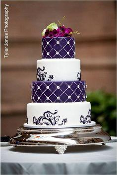 Fancy Purple Cake