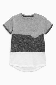 Buy Grey Cut And Sew T-Shirt from the Next UK online shop ad086f6321a