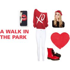 """""""A WALK IN THE PARK"""" by terahworthen on Polyvore"""