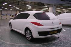 OG | 2007 Peugeot 308 Mk1 | Full-size mock-up
