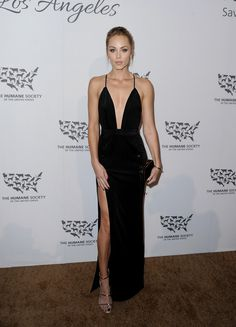 Laura Vandervoort Photos Photos - Actress Laura Vandervoort attends The Humane Society of the United States' to the Rescue Gala at Paramount Studios on May 7, 2016 in Hollywood, California. - The Humane Society of the United States' To The Rescue Gala - Red Carpet