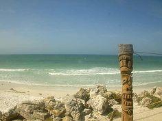 Live look from the BeachHouse Restaurant in Bradenton Beach.