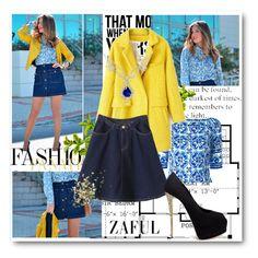 """Zaful #25"" by emina-393 ❤ liked on Polyvore featuring moda, Dolce&Gabbana, Giuseppe Zanotti e Topshop"